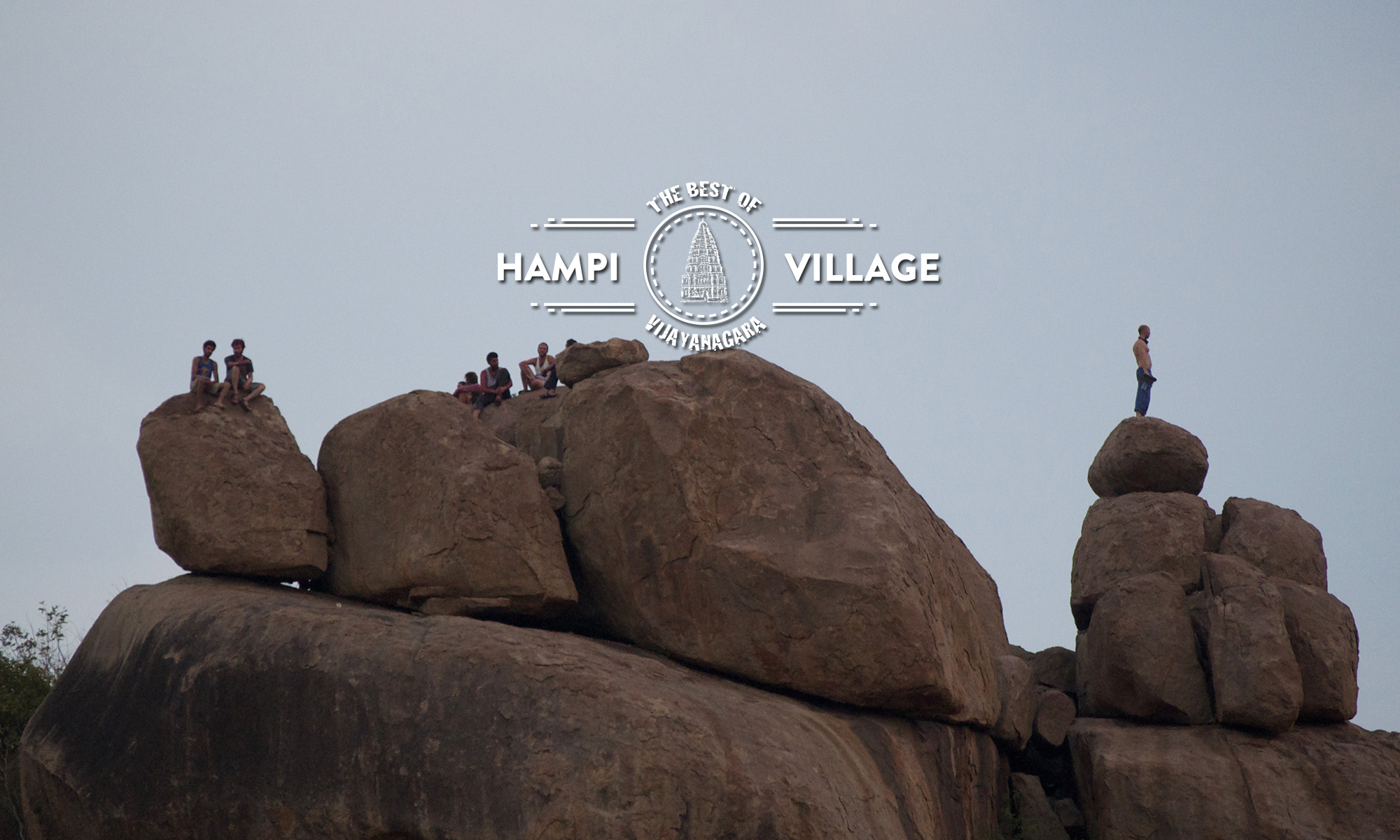 Hampi Island sunset point